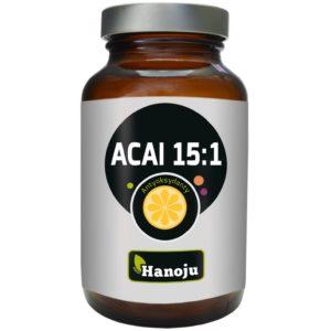 Naturalny ekstrakt z acai 15:1 Hanoju 400 mg 90 tabletek