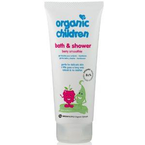 Naturalny żel jagodowy do kąpieli dla dzieci Smoothie Green People 200 ml