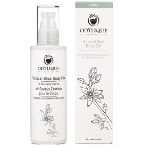 Odylique Essential Care Tropical Bliss Body Silk balsam do ciała 200 ml