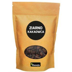Ekologiczne ziarna kakaowca Hanoju 1 kg