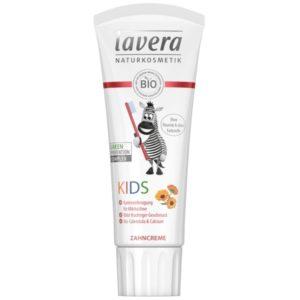 Pasta do zębów dla dzieci z bio-nagietkiem i wapniem Lavera 75 ml