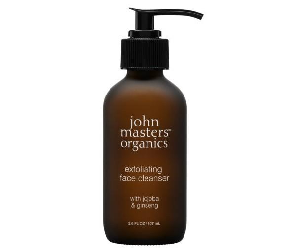 Peeling do twarzy z jojobą i żeń-szeniem John Masters Organics 107 ml