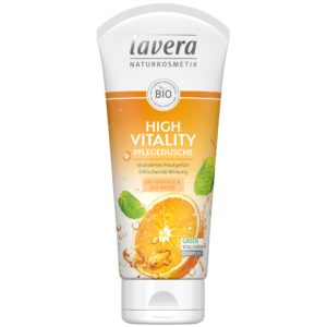 Żel pod prysznic i do kąpieli pomarańcza i mięta Lavera 200 ml