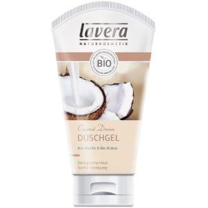 Żel pod prysznic i do kąpieli wanilia i kokos Lavera 150 ml