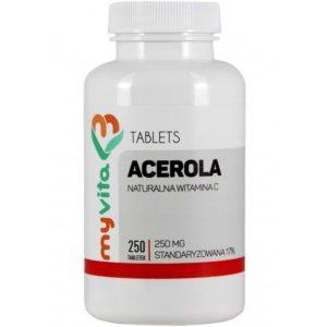 Acerola MyVita tabletki 250 sztuk