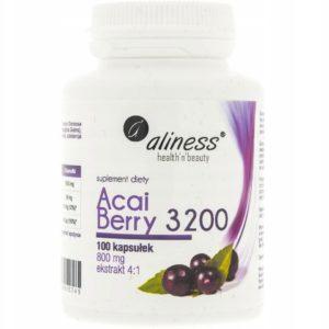 Aliness Acai Berry 3200 100 kapsułek