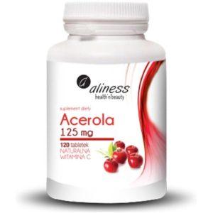 Aliness Acerola 125 mg 120 tab. | Naturalna Vitamina C