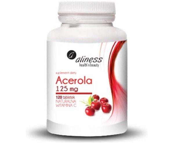Aliness Acerola 125 mg 120 tab.   Naturalna Vitamina C