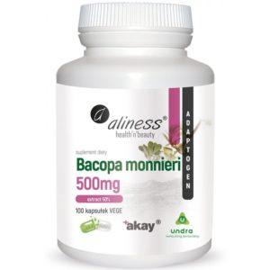 Aliness Bacopa monnieri 500 mg extract 50% 100 kaps.