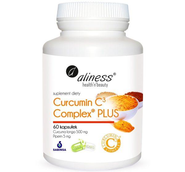 Aliness Curcumin C3 Complex® Plus 60 kapsułek