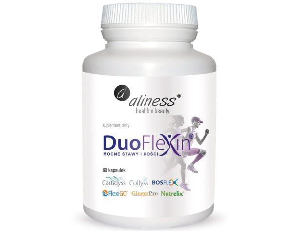Aliness Duoflexin Mocne stawy i kości 100% natural 90 kapsułek