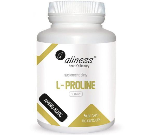 Aliness L-proline 500 mg 100 kapsułek