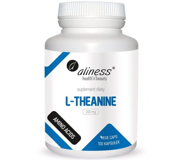 Aliness L-theanine 200 mg 100 kapsułek