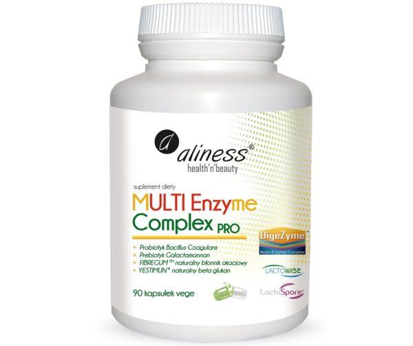 Aliness Multi Enzyme Complex Pro 90 wege kapsułek