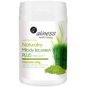 Aliness naturalny młody jęczmień Plus 250 g