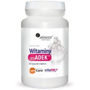 Aliness ProADEK ® Witaminy 60 kapsułek | Witamina A, D3, E, K2