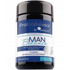 Aliness ProbioBalance Man 30 kaps. | Probiotyk dla mężczyzn