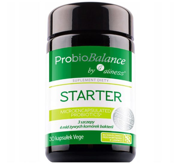 Aliness ProbioBalance Starter 30 kaps.   Probiotyk naturalny