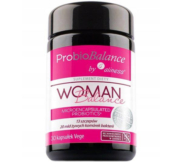 Aliness ProbioBalance Woman 30 kaps. | Probiotyk dla kobiet