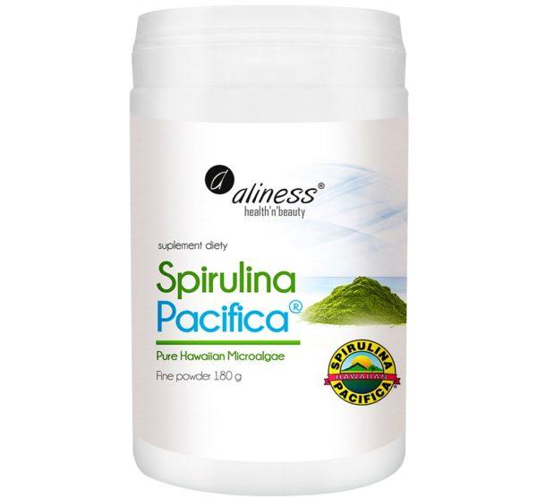 Aliness spirulina hawajska Pacyfica® proszek 180 g