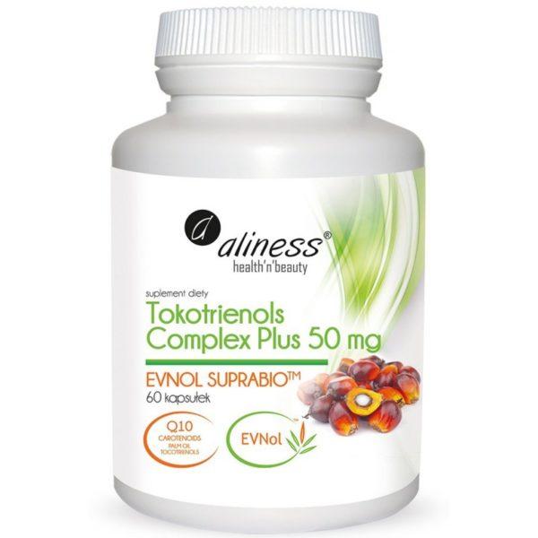 Aliness Tokotrienols Complex Plus 50 mg 60 kapsułek   Evnol suprabio