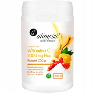 Aliness witamina C buforowana 1000 mg plus proszek 250 g