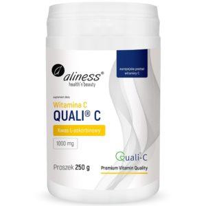 Aliness Witamina C Quali® C 250 g   Kwas L-askorbinowy