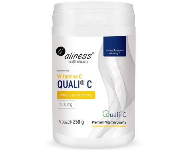 Aliness Witamina C Quali® C 250 g | Kwas L-askorbinowy