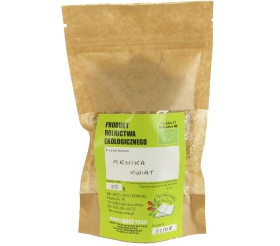 Arnika z uprawy ekologicznej 2x20 g