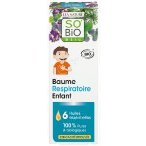 Balsam dla dzieci ułatwiający oddychanie SO BIO 50 ml