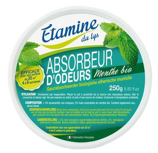 EDL Etamine du Lys | Ekologiczny neutralizator zapachów z miętą 250 g