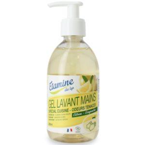 EDL Organiczny żel do mycia rąk w kuchni cytryna i imbir 290 ml