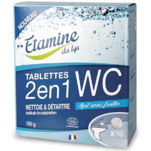 EDL Tabletki 2w1 do WC do czyszczenia i odkamieniania muszli i syfonu