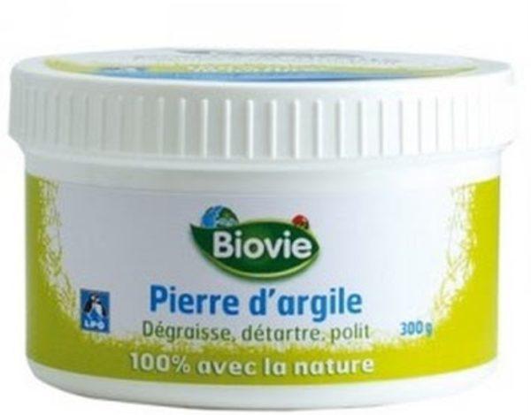 Ekologiczna pasta czyszcząca z białej glinki Biovie 300 g