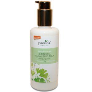 Ekologiczne mleczko oczyszczające do twarzy Jeunesse Provida Organics 100 ml