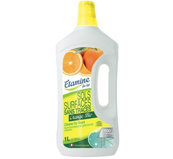 Ekologiczny koncentrat do mycia podłóg organiczna pomarańcza EDL 1 L