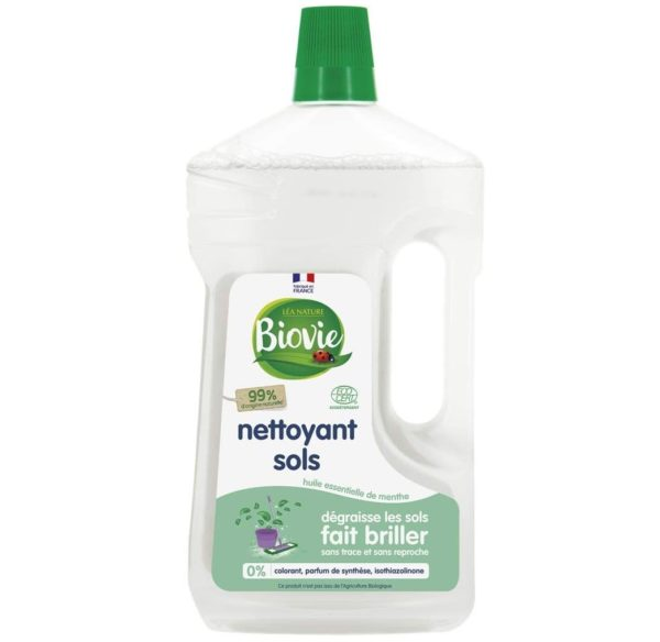 Uniwersalny płyn do mycia z miętowym olejkiem eterycznym Biovie 1 L