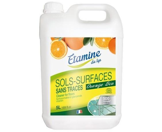 Etamine du Lys   Koncentrat do mycia podłóg organiczna pomarańcza 5 L