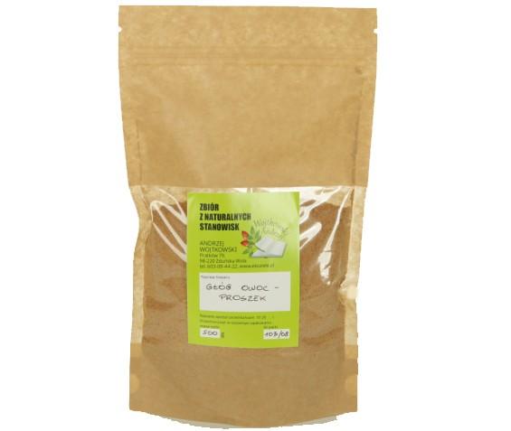 Głóg dwuszyjkowy z naturalnych stanowisk 50 g (Owoc proszek)
