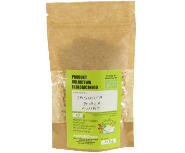 Jasnota biała zioła z uprawy ekologicznej 2x10 g
