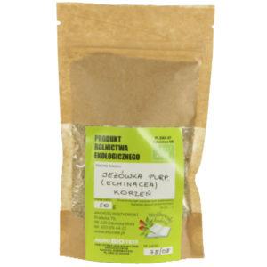 Jeżówka purpurowa korzeń z uprawy ekologicznej (Echinacea) 2x50 g
