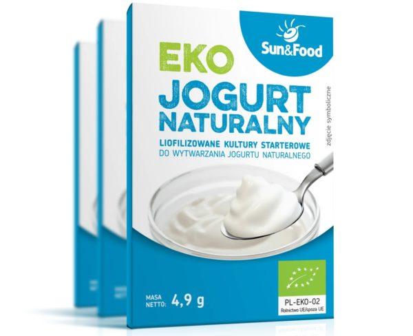 Eko jogurt naturalny Sun And Food