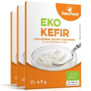 Eko kefir Sun And Food | Bakterie do wytwarzania kefiru
