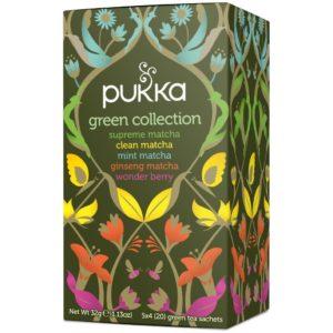 Kolekcja herbat zielonych | Green Collection Pukka Herbs