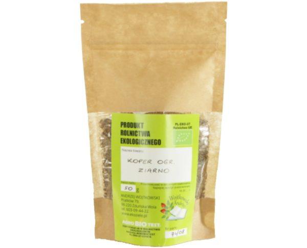 Koper ogrodowy z uprawy ekologicznej (Anethum graveolens)