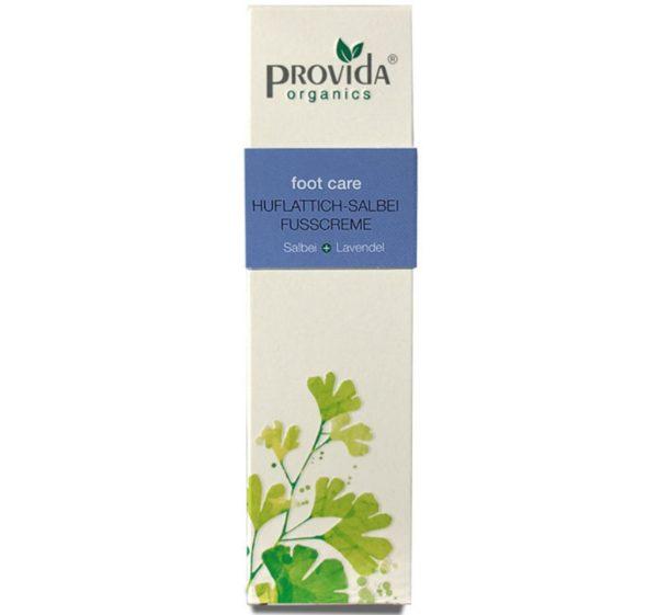 Provida Organics krem do stóp z podbiałem i szałwią 50 ml
