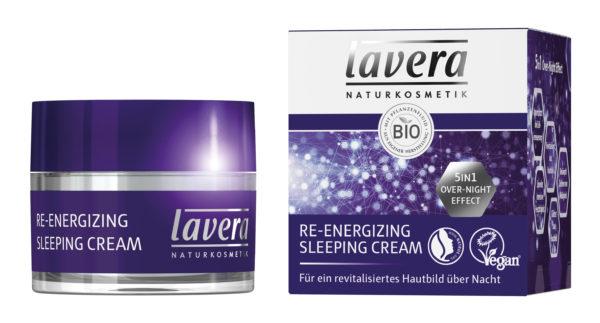 Krem maska do regeneracji skóry na noc Lavera 50 ml
