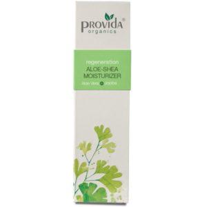 Krem nawilżający aloesowy z masłem shea Provida Organics 50 ml