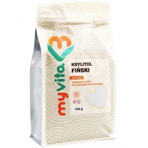 Ksylitol fiński MyVita | Xylitol cukier z brzozy 500 g