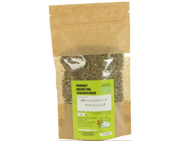 Macierzanka piaskowa Liść z uprawy ekologicznej 2x25 g